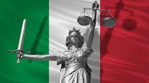 giustizia con tricolore