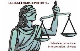 la legge è uguale per tutti